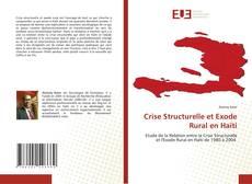 Borítókép a  Crise Structurelle et Exode Rural en Haïti - hoz