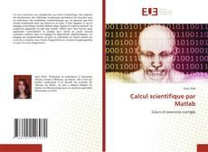 Borítókép a  Calcul scientifique par Matlab - hoz