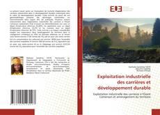 Copertina di Exploitation industrielle des carrières et développement durable