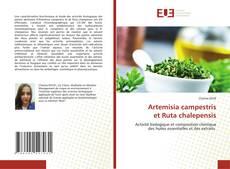 Portada del libro de Artemisia campestris et Ruta chalepensis