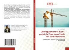 Borítókép a  Développement et avant-projet du Code panafricain des investissements - hoz