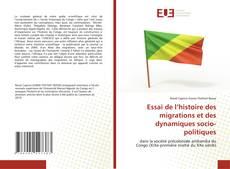 Borítókép a  Essai de l'histoire des migrations et des dynamiques socio-politiques - hoz