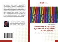 Borítókép a  Préparation au tissage et systèmes de changement rapide d'article : - hoz