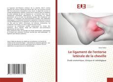 Borítókép a  Le ligament de l'entorse latérale de la cheville - hoz