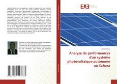 Borítókép a  Analyse de performances d'un système photovoltaïque autonome au Sahara - hoz