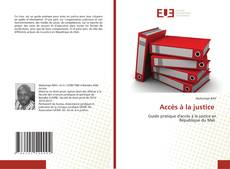 Bookcover of Accès à la justice