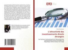 Borítókép a  L'attractivité des investissements directs étrangers - hoz