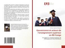 Gouvernance et acteurs de l'enseignement supérieur en RD Congo kitap kapağı