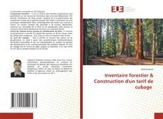 Обложка Inventaire forestier & Construction d'un tarif de cubage