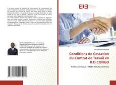 Copertina di Conditions de Cessation du Contrat de Travail en R.D.CONGO