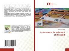 Borítókép a  Instruments de paiement et de crédit - hoz