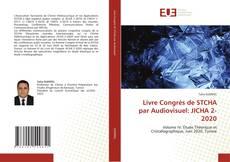 Portada del libro de Livre Congrès de STCHA par Audiovisuel: JICHA 2-2020