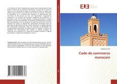 Borítókép a  Code de commerce marocain - hoz