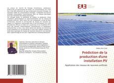 Couverture de Prédiction de la production d'une installation PV