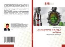 Portada del libro de La gouvernance climatique au Maroc