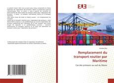 Remplacement du transport routier par Maritime kitap kapağı