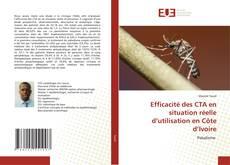 Buchcover von Efficacité des CTA en situation réelle d'utilisation en Côte d'Ivoire