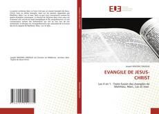 Couverture de EVANGILE DE JESUS-CHRIST