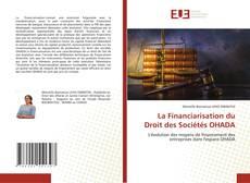 La Financiarisation du Droit des Sociétés OHADA的封面
