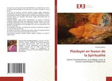 Buchcover von Plaidoyer en faveur de la Spiritualité