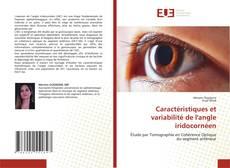 Bookcover of Caractéristiques et variabilité de l'angle iridocornéen