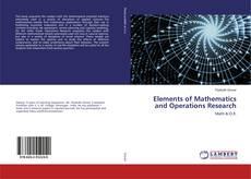 Обложка Elements of Mathematics and Operations Research