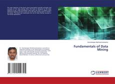 Bookcover of Fundamentals of Data Mining