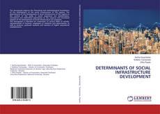 Bookcover of DETERMINANTS OF SOCIAL INFRASTRUCTURE DEVELOPMENT