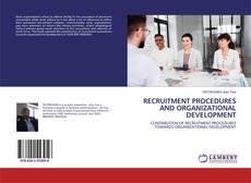 Couverture de RECRUITMENT PROCEDURES AND ORGANIZATIONAL DEVELOPMENT