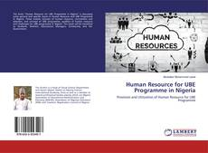 Portada del libro de Human Resource for UBE Programme in Nigeria