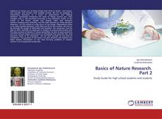 Bookcover of Basics of Nature Research. Part 2