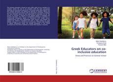 Bookcover of Greek Educators on co-inclusive education