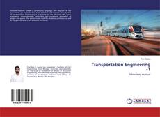 Обложка Transportation Engineering -1