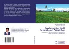 Buchcover von Development of liquid formulation of Azospirillum