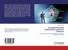 Bookcover of Entrepreneurship Exploratory Learner's Material