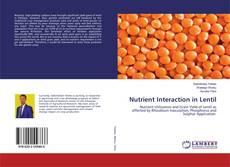 Buchcover von Nutrient Interaction in Lentil