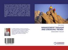 Copertina di MANAGEMENT THOUGHT AND EMERGING TRENDS