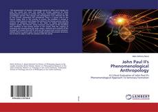 Bookcover of John Paul II's Phenomenological Anthropology