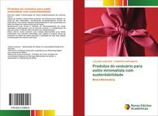 Capa do livro de Produtos do vestuário para estilo minimalista com sustentabilidade