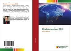 Eleições municipais 2020 kitap kapağı
