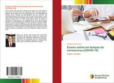 Portada del libro de Ensino online em tempos de coronavírus (COVID-19)