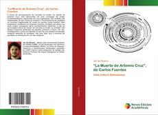"""Couverture de """"La Muerte de Artemio Cruz"""", de Carlos Fuentes"""