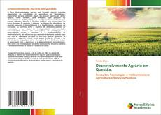 Desenvolvimento Agrário em Questão. kitap kapağı