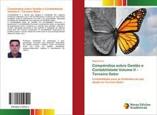 Bookcover of Compêndios sobre Gestão e Contabilidade Volume II - Terceiro Setor