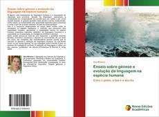 Copertina di Ensaio sobre génese e evolução da linguagem na espécie humana