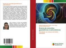 Ensino de conceitos geométricos e astronômicos的封面