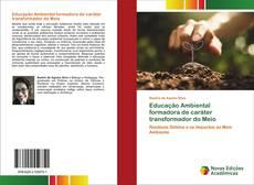 Portada del libro de Educação Ambiental formadora de caráter transformador do Meio