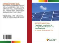 Capa do livro de Viabilidade econômica da Energia Fotovoltaica em um aterro sanitário