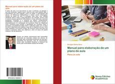 Capa do livro de Manual para elaboração de um plano de aula