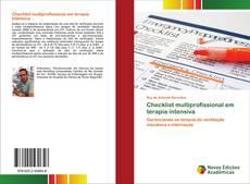 Обложка Checklist multiprofissional em terapia intensiva